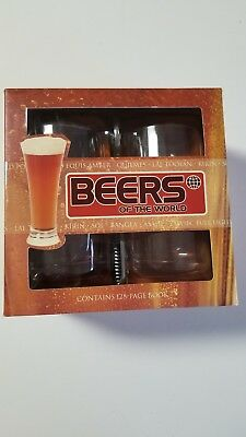 Beers of the World book and gift set by Top That! publishing. New!