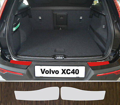 Clear Protective Foil Bumper Protection Transparent Volvo XC40, from 2018