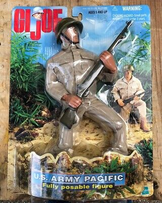 GI Joe US Army Pacific1998 Hasbro Adult Collectable Fully Poseable Armed Service