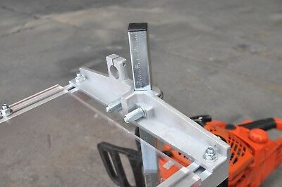 "Clamp on your Saw /& Make Lumber! Portable /& Collapsible 36/"" Chain Saw Mill"