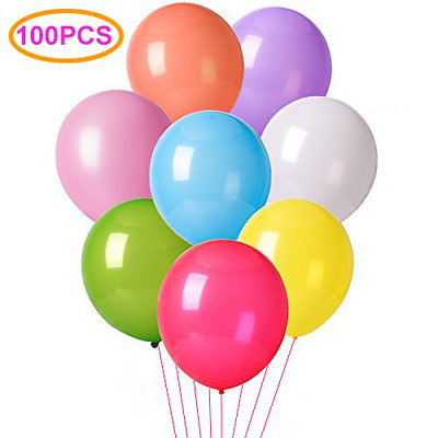 12 Inches Assorted Color Party Balloons Happy Birthday Wedding and Decorations