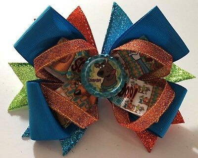 Handmade Scooby Doo Hairbow Hair bow