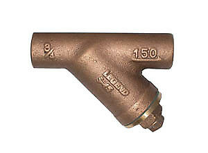 Legend 105-518NL 2 inch SWT x SWT S-15 No Lead Bronze Y-Strainer