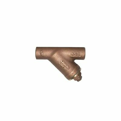 Legend 105-516NL 1¼ inch SWT x SWTC  S-15 No Lead Bronze Y-Strainer