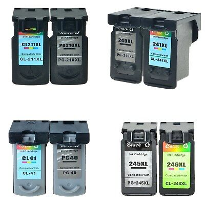 PG245XL CL246XL 240XL 241XL 210XL 211XL PG40 CL41 B & C Ink Cartridge For Canon