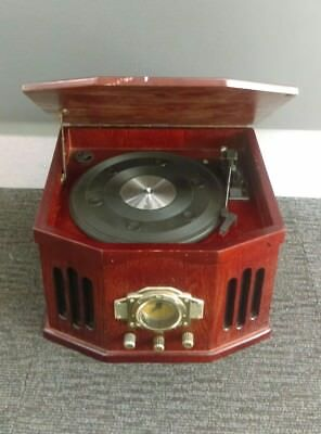 Antique Style Radio And Record Player