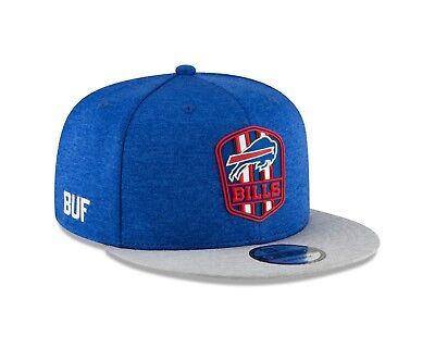 6bca3bcd3 Buffalo Bills New Era 2018 NFL Sideline Road Official 9Fifty Snapback Hat