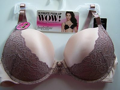 0db30902e6 MAIDENFORM 6566 PURPLE ADD 2 CUP SIZES Bra NWT   32B 34A -  22.99 ...