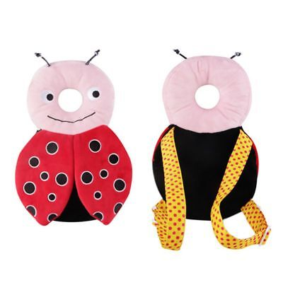 Toddler Baby Cute Cartoon Adjustable Safety Pads Walkers Head Protection    AU