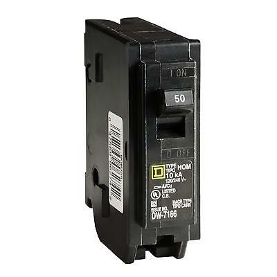 Square D by Schneider Electric HOM150CP Homeline 50-Amp Single-Pole Circuit