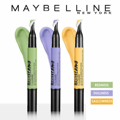 Maybelline Master Camo By Face Studio Color Correcting Pen ~ You Choose ~ SEALED