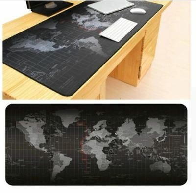 Large Old World Map Mouse Pad Mat Laptop Computer Game Gaming Gamer Office Desk
