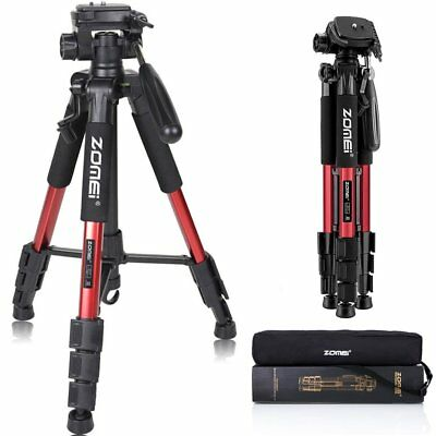 Zomei Q111 RED Professional Aluminum Travel Tripod Panhead for DSLR Camera