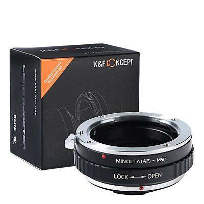 K&F Concept Adapter Minolta Sony Alpha AF MAF SA Micro Four Thirds M4/3 MFT m43