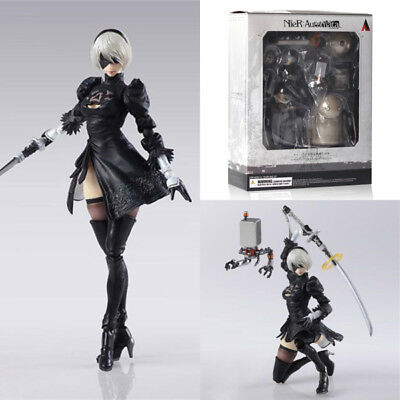 Play Arts NieR:Automata 2B & Machine Lifeform Action Figur Figure Spielfiguren