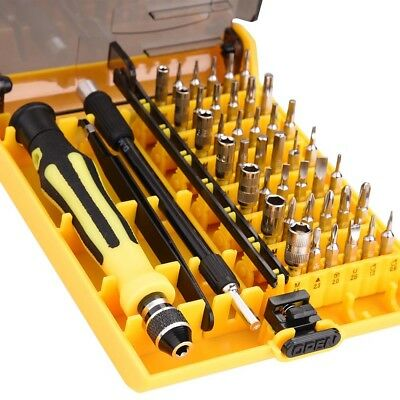 45in1 Precision Torx Screw Driver Tweezers Mobile Kit Cell Phone Repair Tool Set