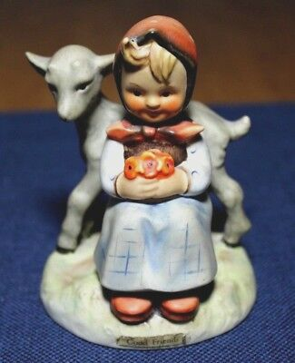 "Goebel Hummel Figurine- ""Good Friends""  #182  TMK-3- Vintage"