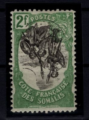 P86122/ FRENCH SOMALI COAST / VARIETY / MAURY # 65c MINT MH / CERTIFICATE 225 €