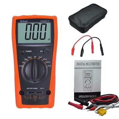 VICI VC6013 200pf to 20mF discharge digital capacitor / capacitance meter tester