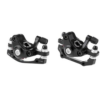 2Pcs Bicycle Front Rear Disc Brake Mountain Bike Brakes Mechanical Caliper