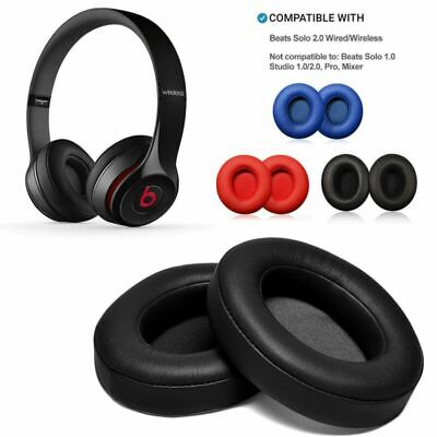 Replacement Ear Pad Cushion For Beats by Dr Dre Solo 2 3 Wireless/Wired Headphon