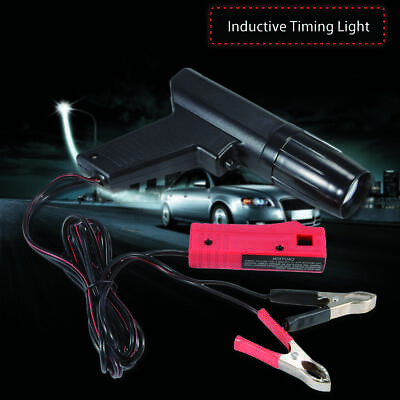 Timing Light TL-122 Pistol Grip Impact Resistant Xenon Strobe Ignition   A+
