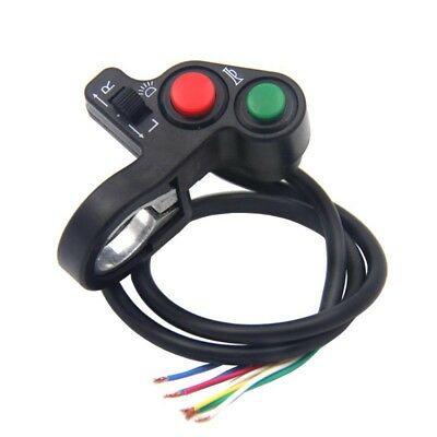 "Motorcycle ATV Bike Scooter Offroad 7/8"" Switch Horn Turn Signal On/Off Light#"