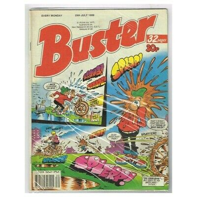 "Buster Comic  July 29 1989 MBox2789 "" I Hate cleaning my bike"""
