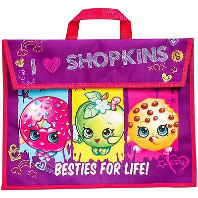 Children's Official Licensed Shopkins Book Bag School