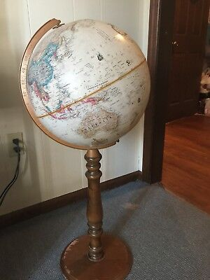 Replogle Globe 16 Inch World Classic Series with Wooden Base