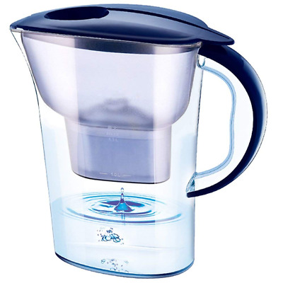 Water Pitcher with Filter 2.5 LCapacity Activated Carbon Kettle Kitchen Purifier