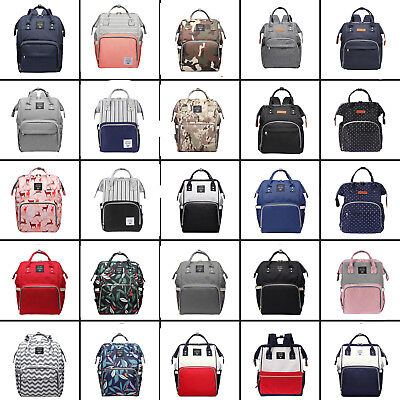 LEQUEEN Mummy Maternity Nappy Handbag Diaper Bags Baby Care Bag Travel Backpack