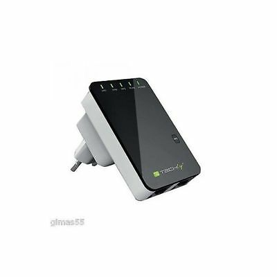 Wireless-N Mini Router Wifi Repeater Extender Booster amplificatore segnale