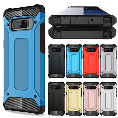Heavy Duty Defender Shockproof Hard Case Cover For Samsung Galaxy Note 9 8 5 4