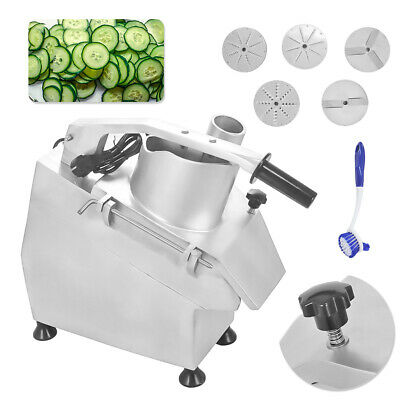 300kg/h Commercial Catering Vegetable Preparation Machine Veg Prep Slicer 220V