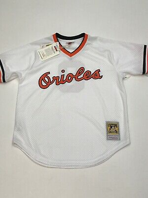 new concept e4096 85fb9 CAL RIPKEN JR. throwback authentic mitchell and ness jersey size 48 XL