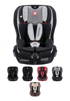 Car seat Lionelo Jasper ISOFIX TOP TETHER 9-36 kg + 2x Sun cover + Organizer