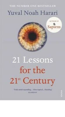 21 Lessons for the 21st Century By Yuval Noa [ Paperback | 2018 ] FREE DELIVERY