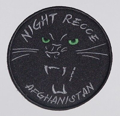"""Aufnäher Patch ISAF NIGHT RECCE AFGHANISTAN - AG 51 """"I"""" ..........A2259K"""