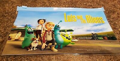 2 x Luis and the Aliens, Odeon promotional pencil case