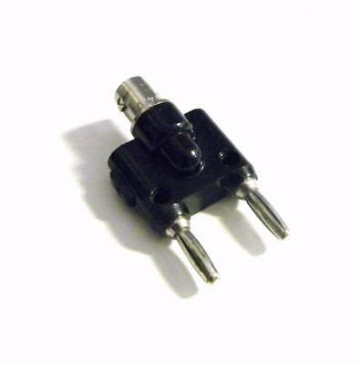 Pomona 1269 Bnc Male To Double Stacking Banana Plug Adapter (10 Available)
