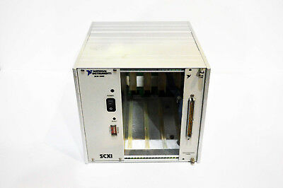 National Instruments NI SCXI-1000 4 Slot Mainframe Chassis with NI SCXI-1180