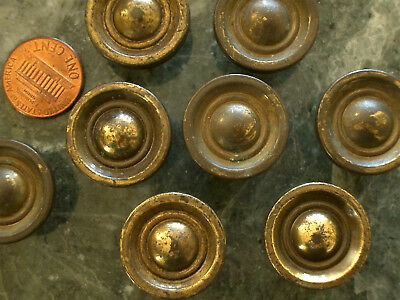 16 Hard-To-Find Small Antique Vintage Brass Bronze Cabinet Drawer Knobs Pulls