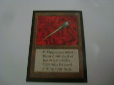 MTG Beta Disrupting Scepter Collector´s Edition Beta CE Magic