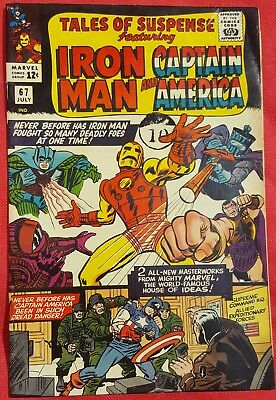 Tales of Suspense 67 1965 Where Walks the Villains 1st Iron Man Hand Repulsors
