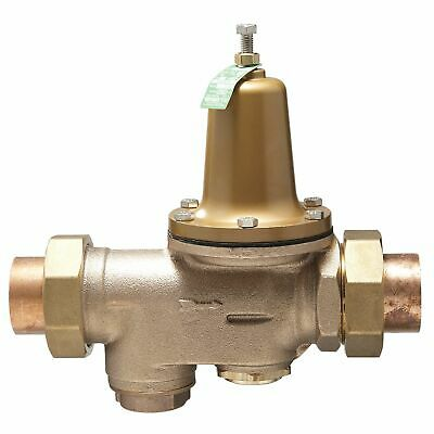 Watts 0009455 2 inch LF25AUB-S-DU-Z3 Double Union Water Pressure Reducing Valve