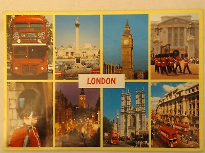 London - England - Vintage - Collectable - Postcard.