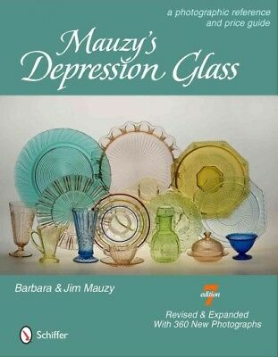 Mauzy's Depression Glass : A Photographic Reference and Prices, Hardcover by ...