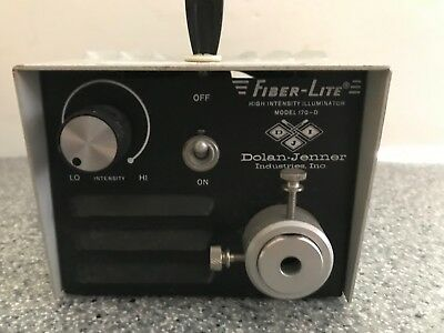 Dolan Jenner 180 FIber Optic Light source & Dual Gooseneck