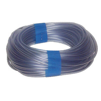 Aquarium AirLine Hose Tubing Clear Plastic for Fish Tanks 6mm (4mm Internal)